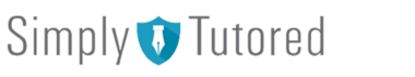 logo for simply tutored in Old Windsor